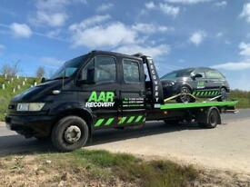 Recovery breakdown and transportation