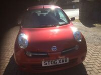 NISSAN MICRA AUTOMATIC - ONLY 27,500 MILAGE - MOT UNTIL NOV 17