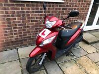 Honda Vision 110cc Low Mileage Warranty 2016/16 Plate