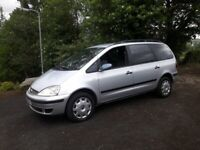 2006 Ford, GALAXY 1.9 TDCI diesel 7 seater not Passat Leon A4 a3 toura