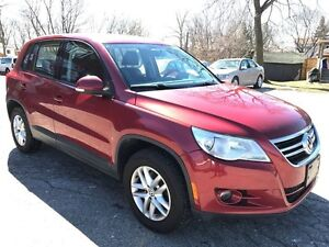 2010 Volkswagen Tiguan ONE OWNER-NO ACCIDENT - CERTIFIED - WARRA