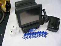 FULL EPOS Till Setup Touch Screen with Receipt Printer, Barcode Scanner, Staff Cards, Tills Rolls