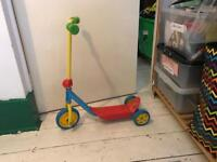 Child's 1st scooter