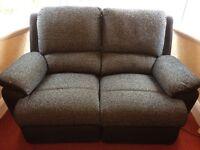 Leg 2 seater settee electric recliner