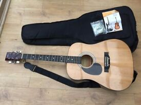 Left Hand Playing Guitar - Martin Smith Full Size Acoustic Guitar