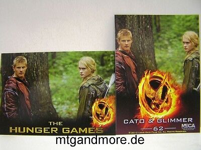 The Hunger Games Movie Trading Card - 1x #062 Cato & Glimmer Hunger Games Cato