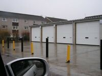 Garage and tandem parking space at Melrose Court Rutherglen
