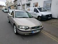 04 PLATE VOLVO V70 D5. 2.4 TURBO DIESEL ESTATE. STUNNING CAR. PX WELCOME