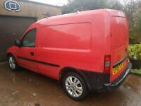 Vauxhall combo cdti 05 reg 1.3 diesel