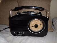 Retro Design Radio by Steepletone Konig