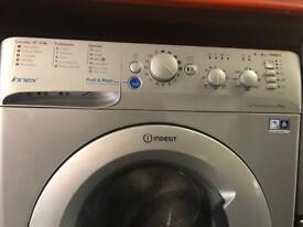 Indesit silver washing machine like new