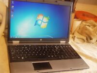 HP 6555b: 120GB : Webcam : Triple-Core 2.20Ghz : 4GB RAM : Win 7 : Activated Office 2007