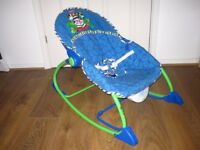 Bargain Fisher Price baby rocker Blue