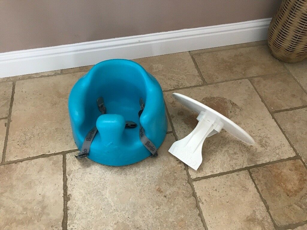 Bumboo seat aqua and table