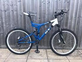 Gt I drive 4.0 full suspension mountain bike will post