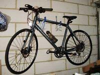 "Carrera Gryphon Hybrid Bike - 21.5"" frame - Slate Grey"