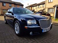 2006 CHRYSLER 300C 3.0 DIESEL AUTOMATIC SALOON FULL SERVICE HISTORY LONG MOT HPI CLEAR
