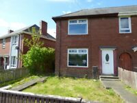 Walker. Newcastle upon Tyne. 2 Bedroom House with large private gardens. No bond. DSS welcome.