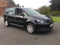 VOLKSWAGEN TOURAN 7 SEATER CAMBELT & SERVICE JUST DONE 1.6 TDI BlueMotion Tech S 165,000 Miles...