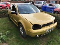 Mk4 Golf 1.8t breaking for parts