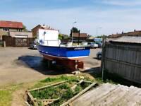 Saltrum 24 fishing boat