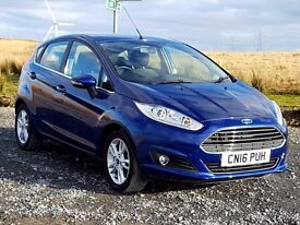 2016 Ford Fiesta Zetec 1.0 Ecoboost 5dr with just 9,500 Miles, One Local Family Owner, Stop/Start...