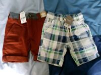 Boys brand shorts age 5yrs
