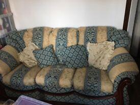 Three seater sofa must go