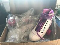 Roller boot/skates brand new size 1
