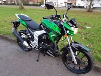Lexmoto Venom SK 125cc 2015 Motorcycle 125 Learner Legal Scooter Excellent Cond Honda CBF YBR Yamaha
