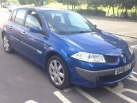 RENAULT MEGANE 1.5 DIESEL MAXIM,HPI CLEAR,1 OWNER,TIMING BELT CHANGED,��30 ROAD TAX,1 YEAR M.O.T,A/C