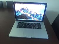 Macbook pro 15 inch 2011 late