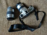 Pentax MZ-7 and additional lens for sale