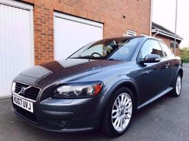 2007 07 Volvo C30 2.0 D SE **Gun Metal Grey**FSH 11 Stamps not golf a3 1.9 tdi astra coupe 320d