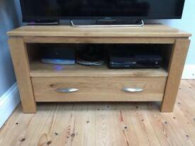 solid oak tv cabinet