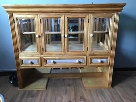 Solid Wood bar for alcohol