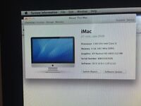 iMac 27inch late 2009 1Tb perfect condition