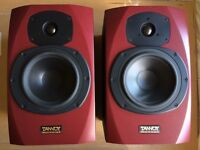 Tannoy Reveal Red Speakers (Good Condition)