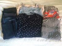 Maternity clothes bundle size 8
