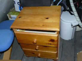 Nice wooden bedside table