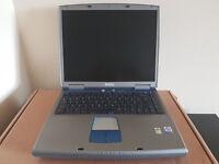 Dell Windows XP laptop, Intel Pentium 4 2.4Ghz, Windows XP Home, Office Professional inc Word Excel