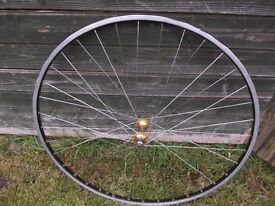 Vintage Alloy Race Bike Front Wheel 700c Road Racer Rim