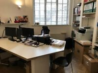 London Office (W9*) to rent- Available Immediately, inclusive of bills