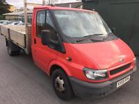 2006 Ford Transit 350 115 Aluminium Drop Side + New engine + New clutch&Fly wheel, Drives excellent