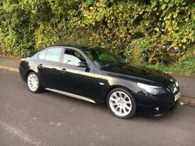Bmw 520d M Sport 2006 -06 + ALLOYS BLACK AIR CON 1/2 LEATHER MANUAL ANY TRIAL INSPECTION