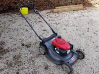 Honda HRX 537 HY Lawnmower (4 months old) £800 ono (RRP £1320)