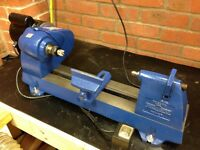Record Power RML 300 Wood Turning Swivel Head Lathe