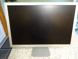 Two Apple Cinema Display Monitors