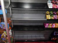 Metal Browser & Bookshelf Retail Shop Slatwall Shelving Shelves Black Grey (call for pricing)