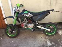 Custom 14 plate road legal pitbike sp125